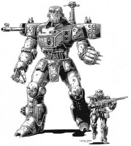 Coalition UAR-1 Enforcer Robot