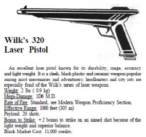 Najbardziej badziewny pistolet w grze.