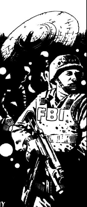 FBI potwierdziło, że chodzi jedynie o niegroźny wybuch gazu.
