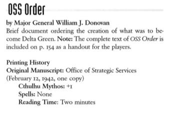 Rozkaz stworzenia DG w wersji księgi mitów